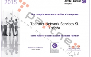 Certificación Alcatel Business Partner