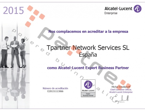 Certificación Alcatel-Lucent Expert Business Partner