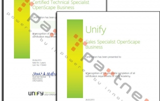 partner certificado por Unify