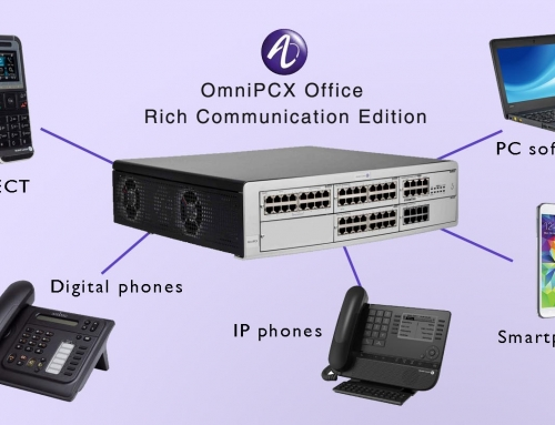Centralita Alcatel OmniPCX Office Rich Communication Edition
