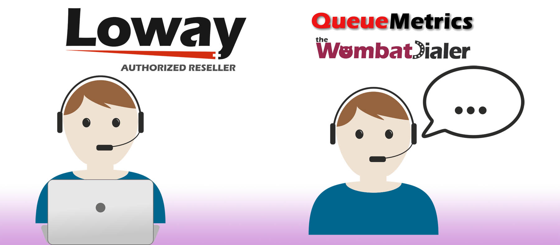 colaboracion loway queuemetrics call center
