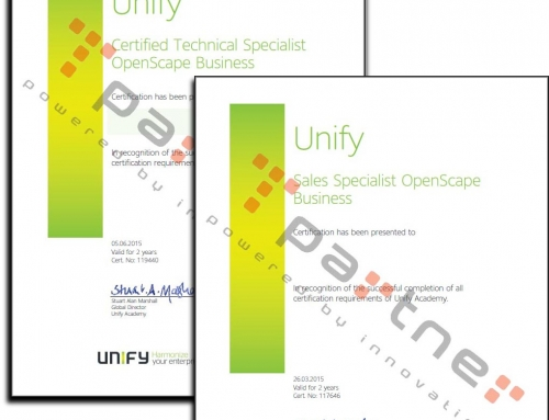 Partner certificado Unify-Siemens Certificación Unify Openscape Business